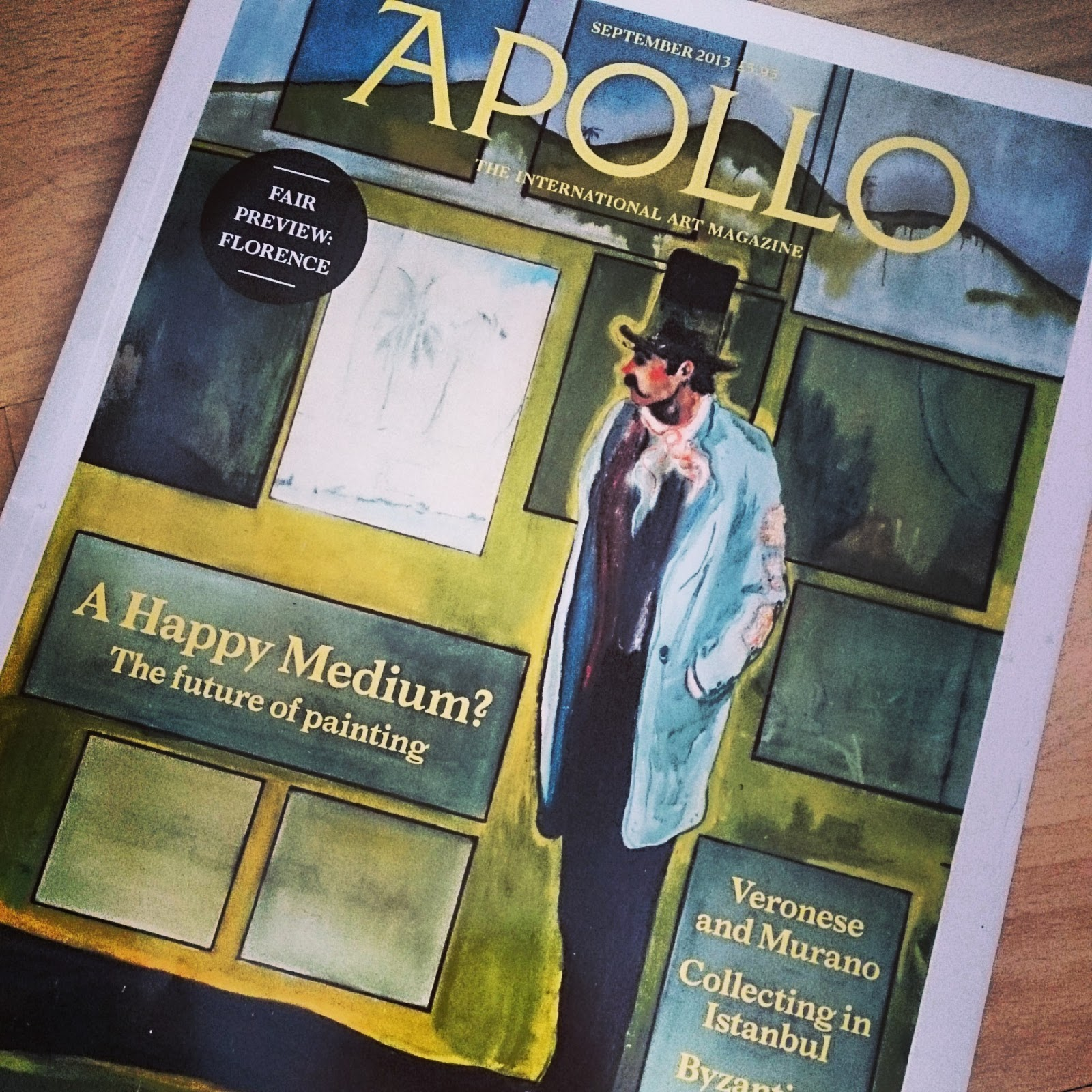Apollo Magazine Internship