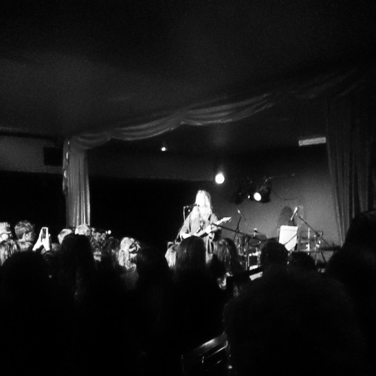 Support act before Johnny Flynn at the Wardrobe in Leeds