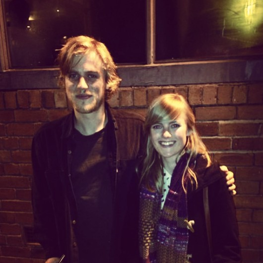 Me and Johnny Flynn!