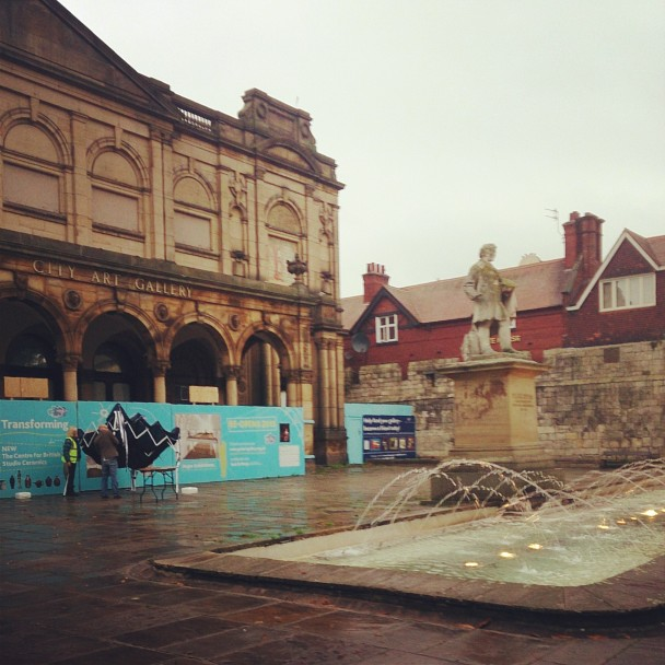 The refurbishment of the York Art Gallery continues!