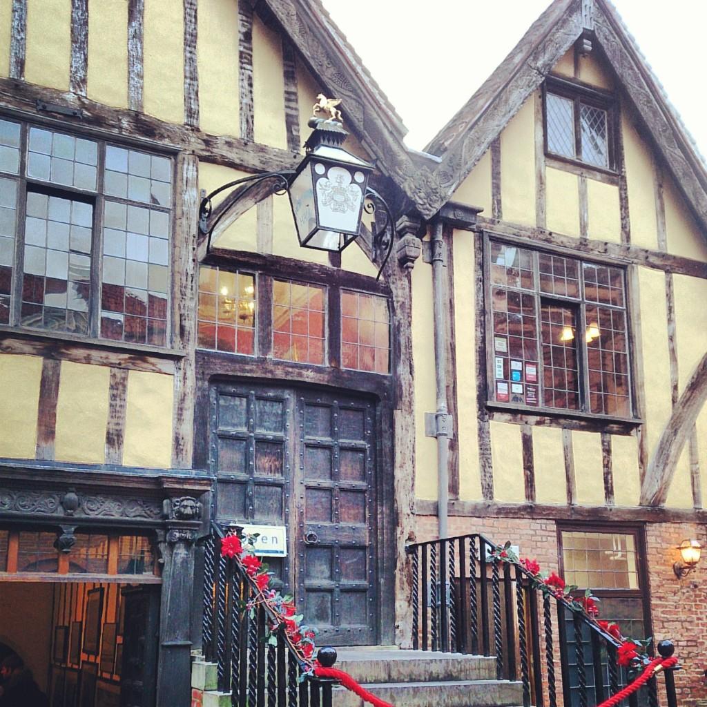 Merchant Adventurers' Hall, York.
