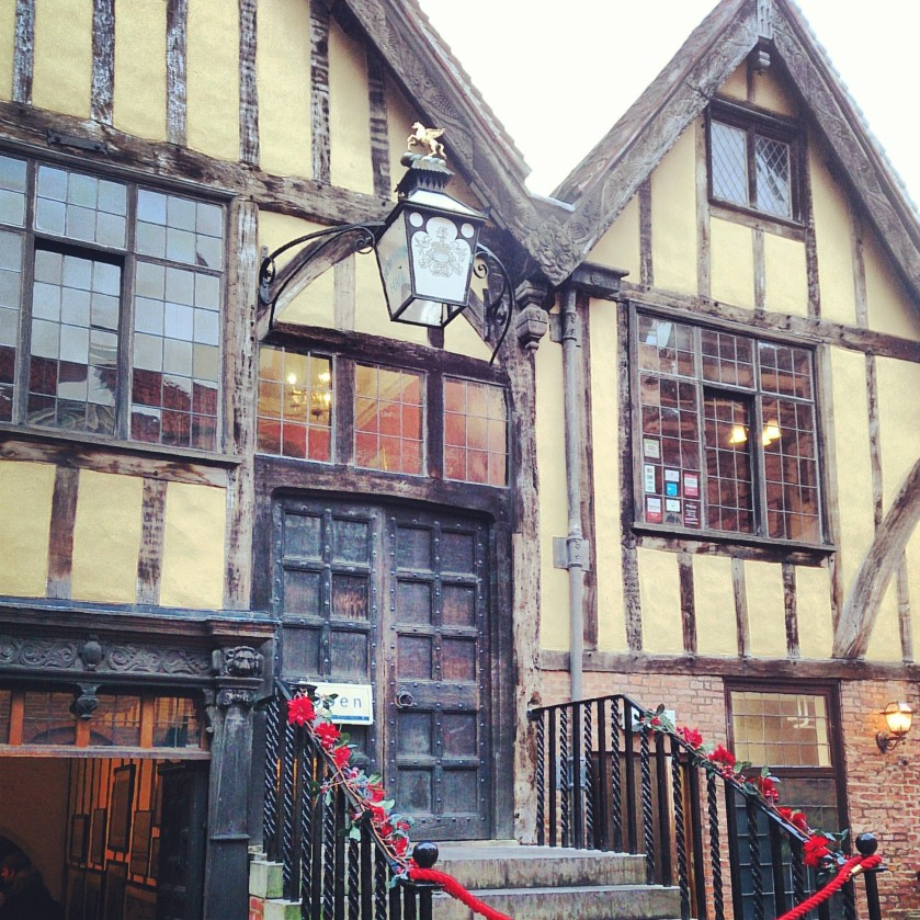 Merchant Adventurers' Hall, York.