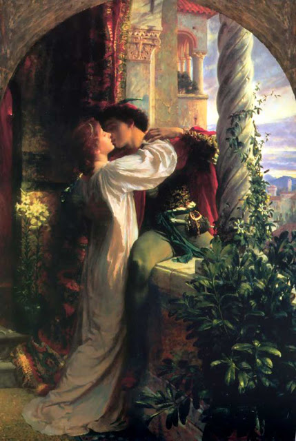 Romeo and Juliet, Frank Bernard Dicksee, Oil on canvas, 1884