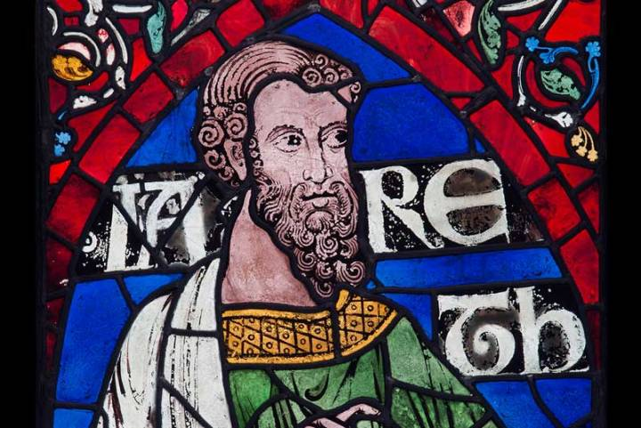 Jared (detail), 1178–80, Canterbury Cathedral © Robert Greshoff Photography, courtesy Dean and Chapter of Canterbury