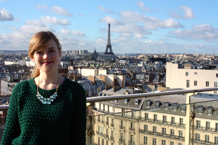 Me in Paris, 2014