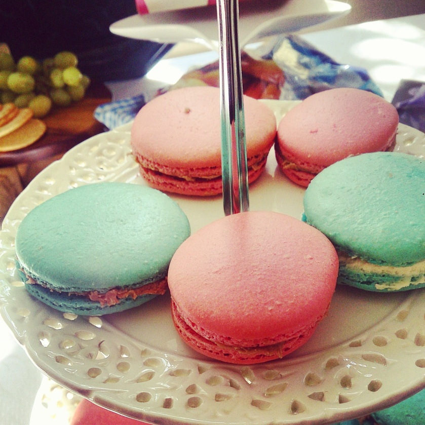 My Macaroons for my Bon Voyage Soiree!