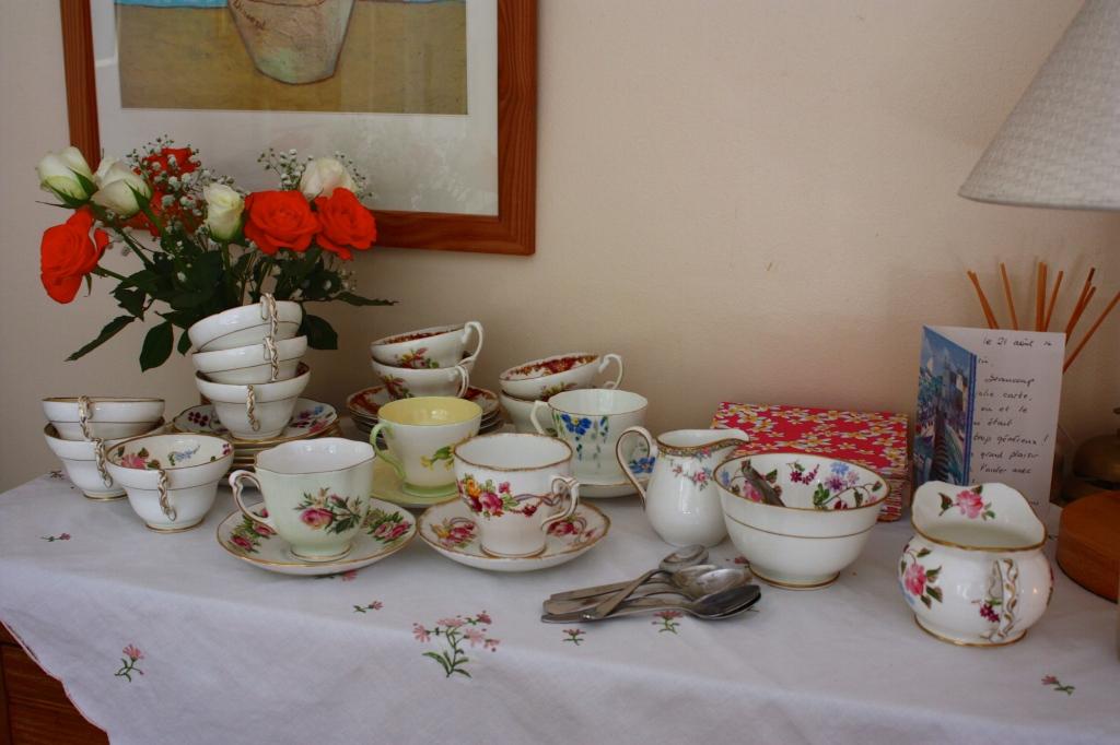 Tea is served!