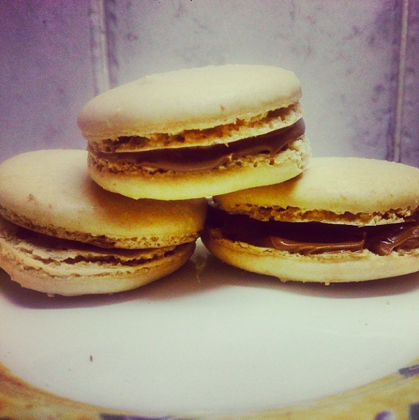 First macaroon attempt... not too bad!