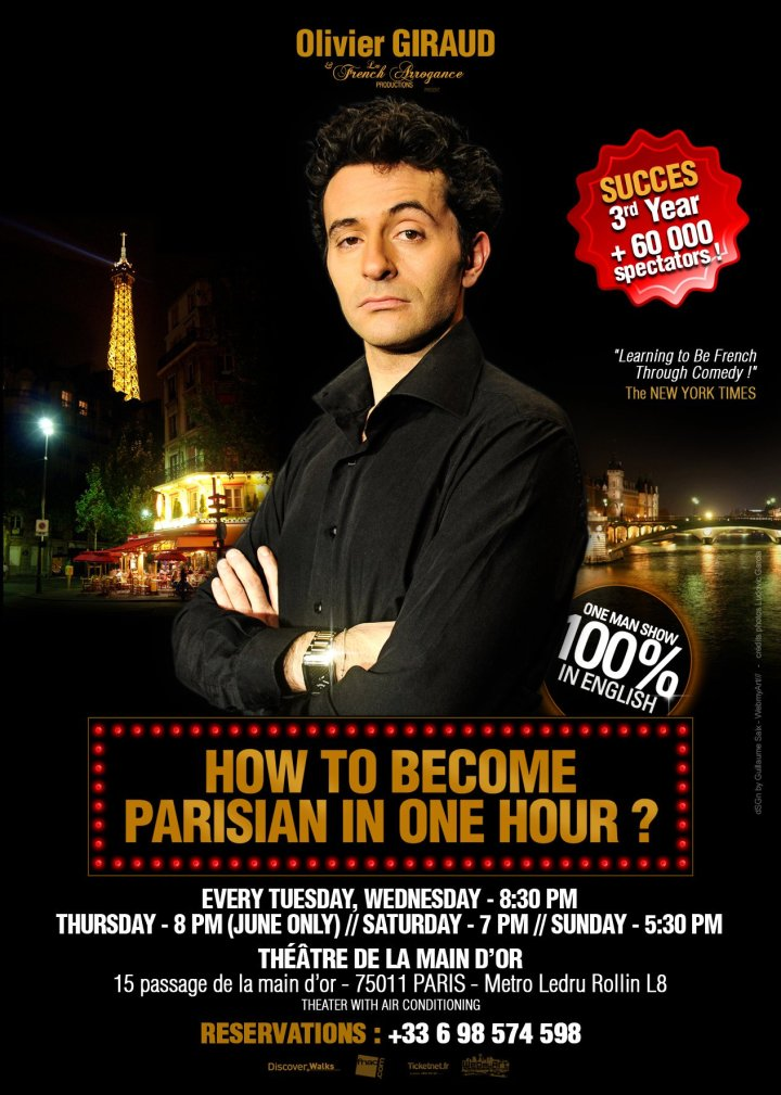 'How to become Parisian in one hour', Olivier Giraud