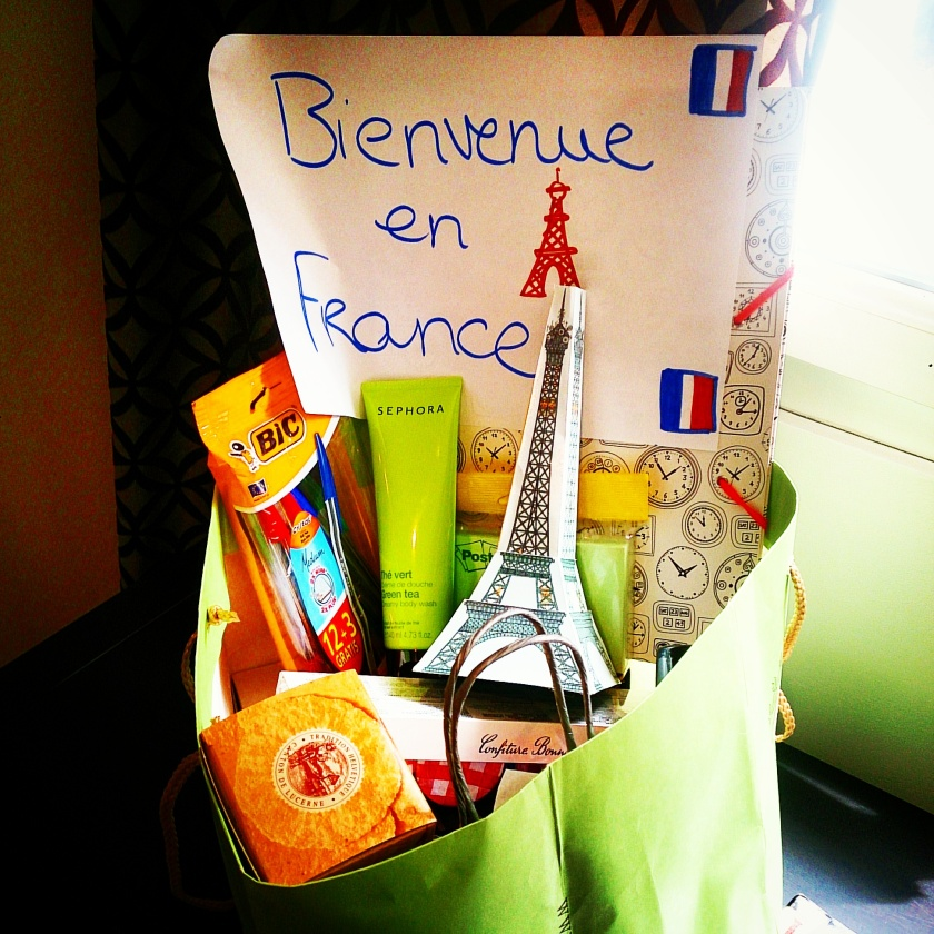 A welcome gift from my Parisian family!