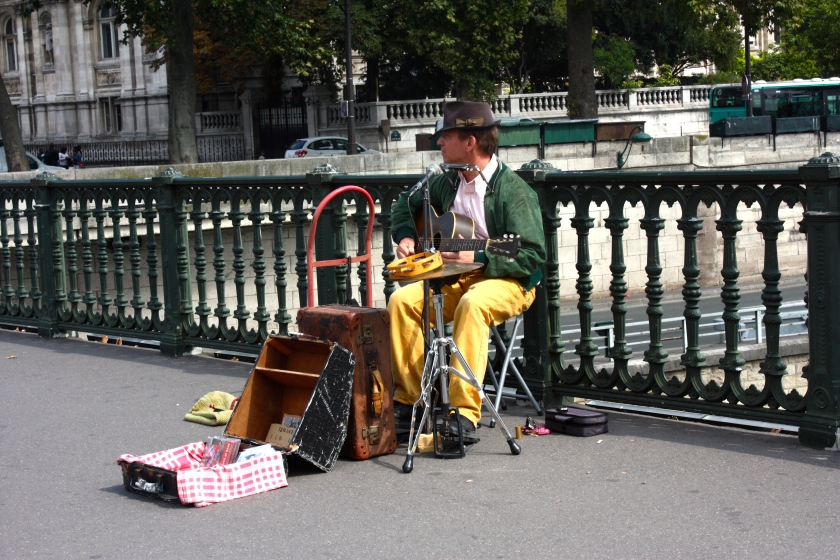 A one man band!