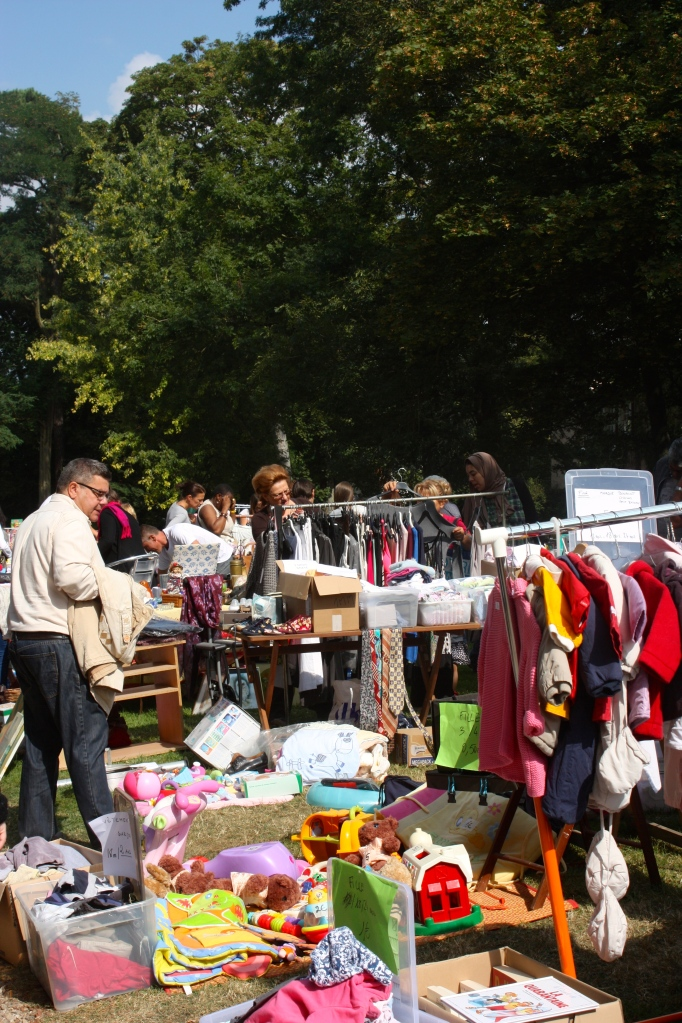 The local Sunday Flea Market