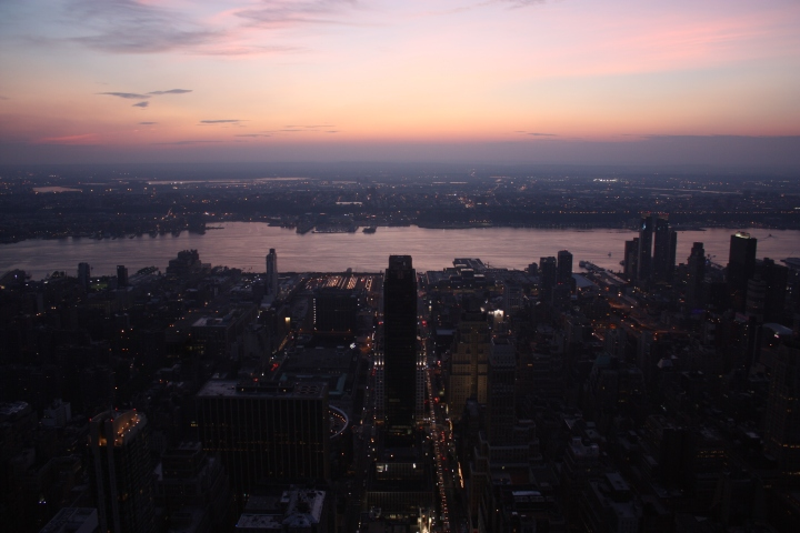 A picture I took from the top of the Empire State Building