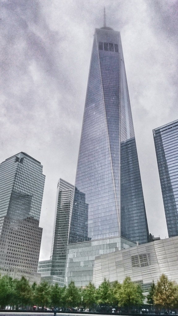 View of the new One World Trade Center