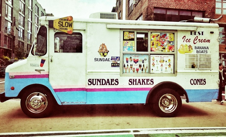 Sundaes, shakes and cones
