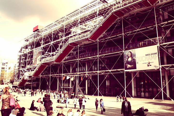 The Centre Pompidou.