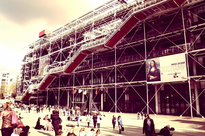 The Centre Pompidou.