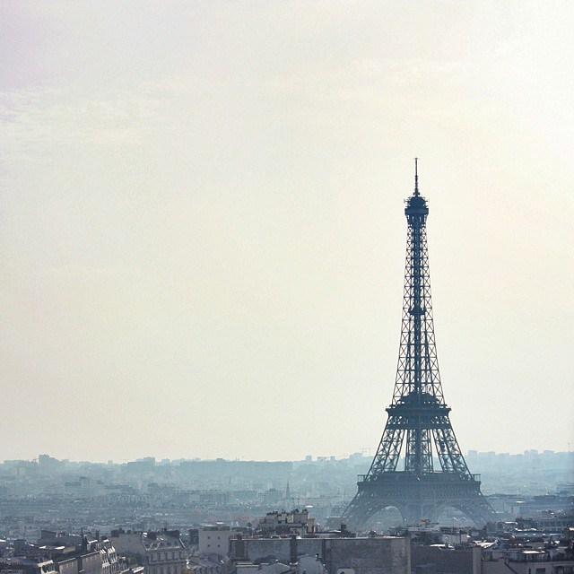 L'Arc de Triomphe and the Jardin des Tuileries