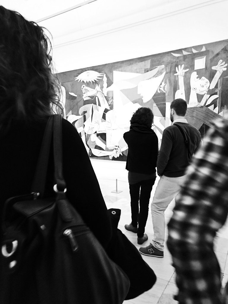 Viewing Picasso's Guernica, 1937