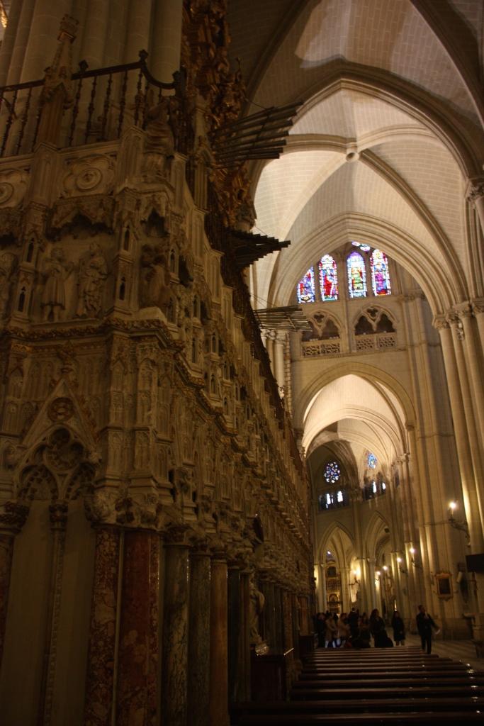The Catedral Primada Santa María de Toledo, interior