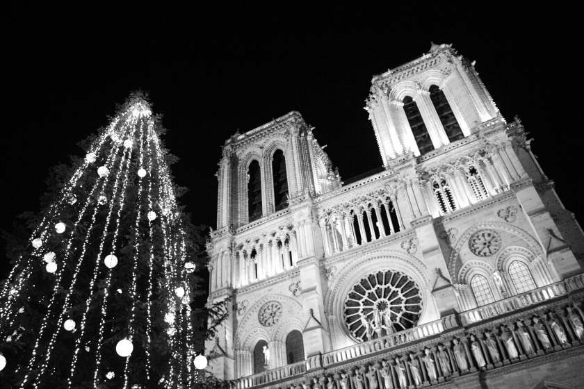 Christmas at Notre-Dame Cathedral, Paris