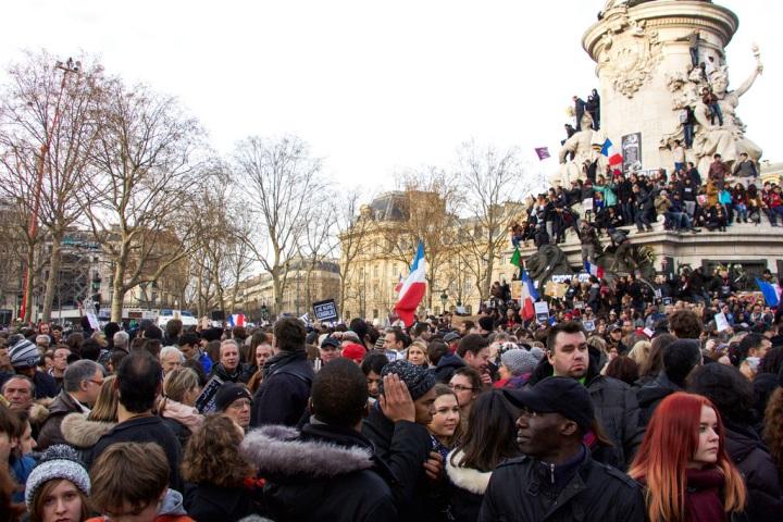 Marche Républicaine, Je suis Charlie, Paris