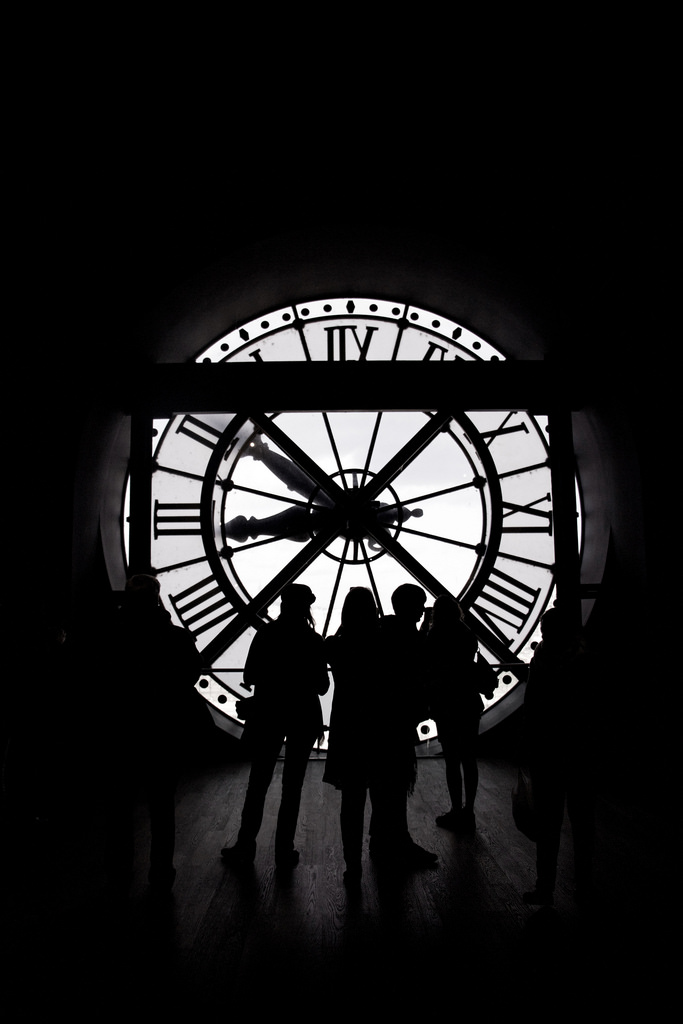 'Time is not measured by clocks but by moments': Musée d'Orsay