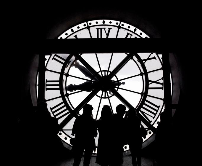 Musée d'Orsay Clock, Paris