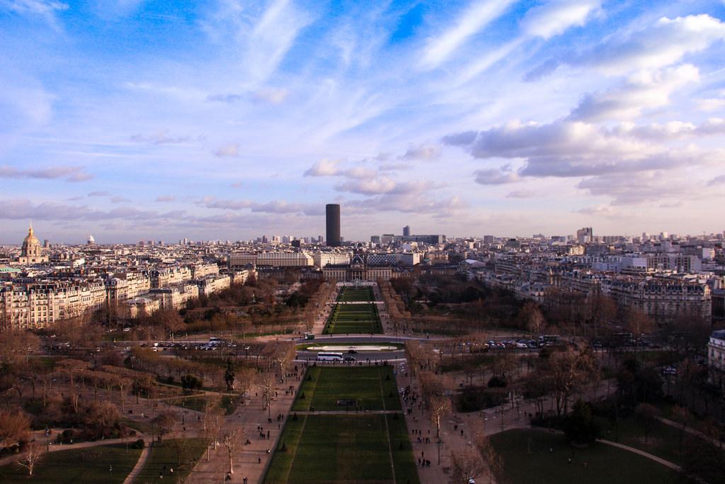 A spontaneous trip up La Tour Eiffel, Paris