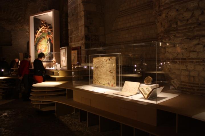 'Voyager au Moyen Âge' exposition', Musée de Cluny, Paris
