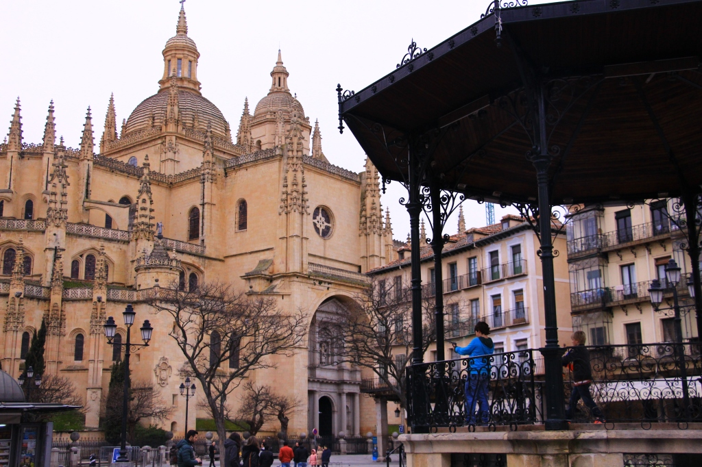 The beautiful Cathedral of Segovia
