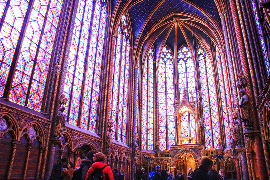 The Sainte-Chapelle, Paris