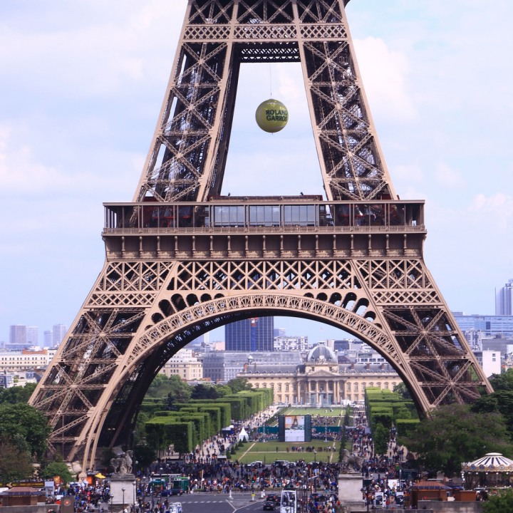 Eiffel Tower, Roland Garros 2015, Paris