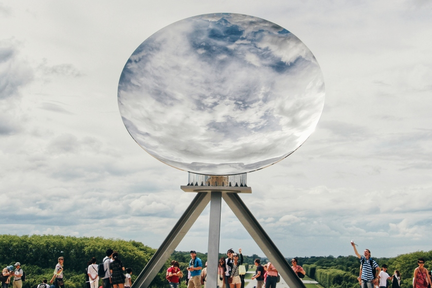 Anish Kapoor, Sky Mirror, Versailles