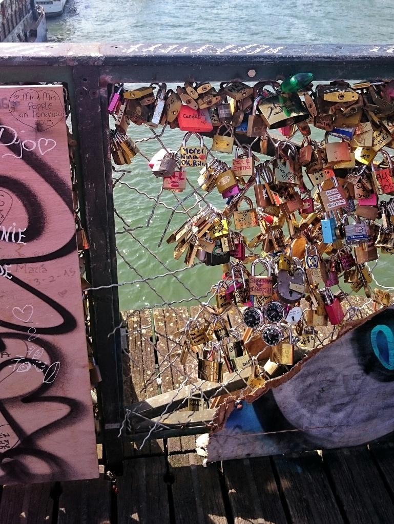 Pont des Arts, Love Locks, Paris