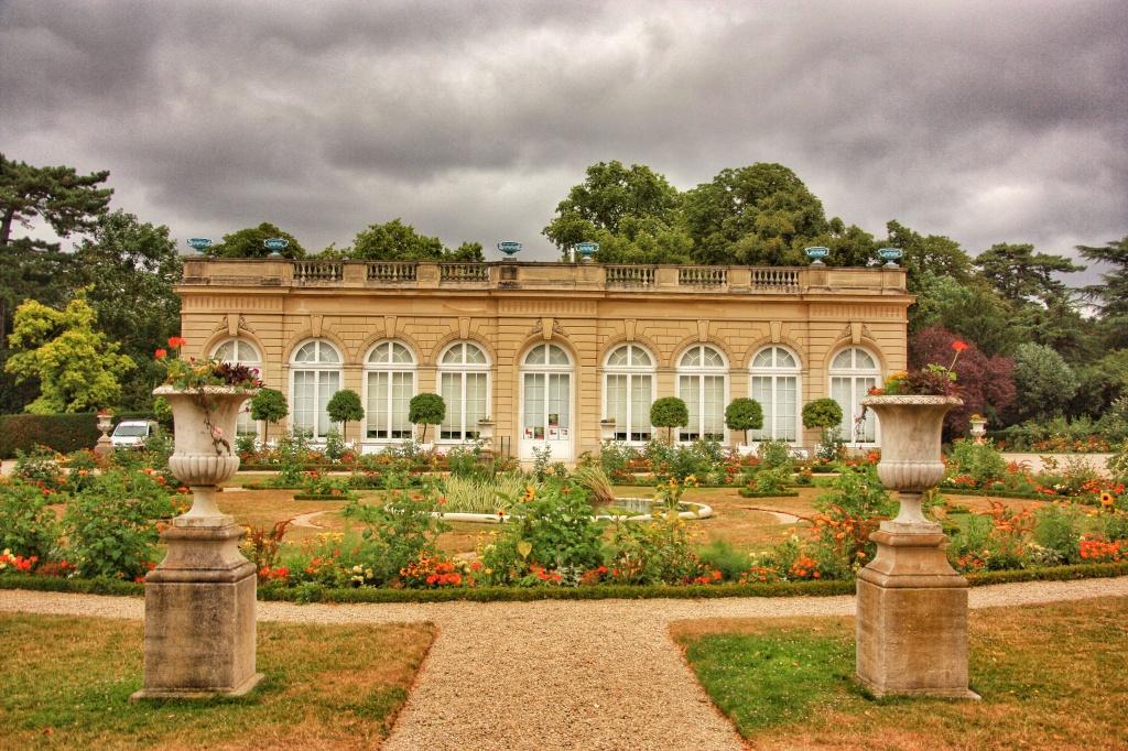 The Orangerie, Parc de Bagetelle, Paris, Promenades, Park Paris