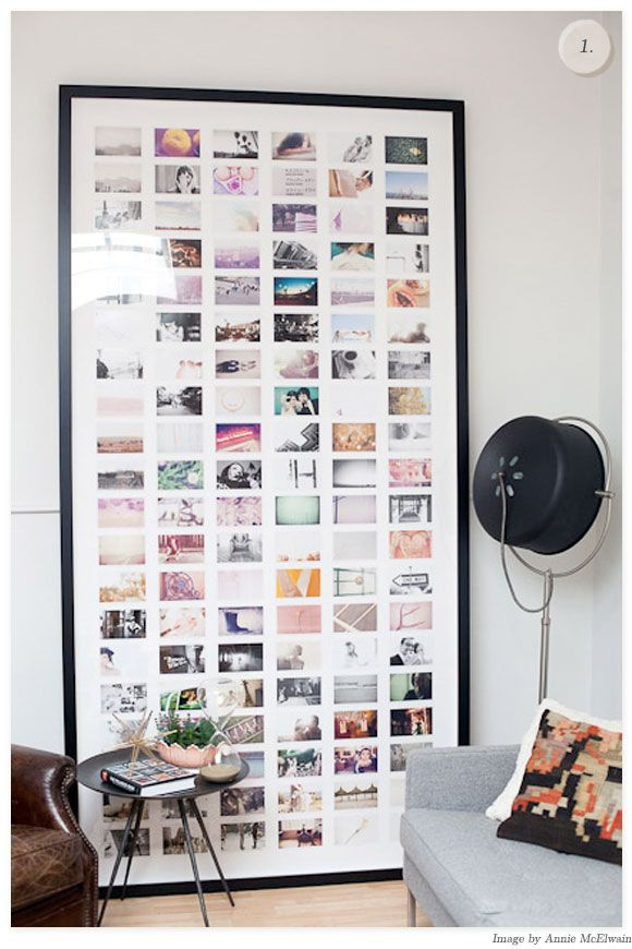 Ways to display postcards in your home, Roisin Grace. Photo from Creature Comforts Blog