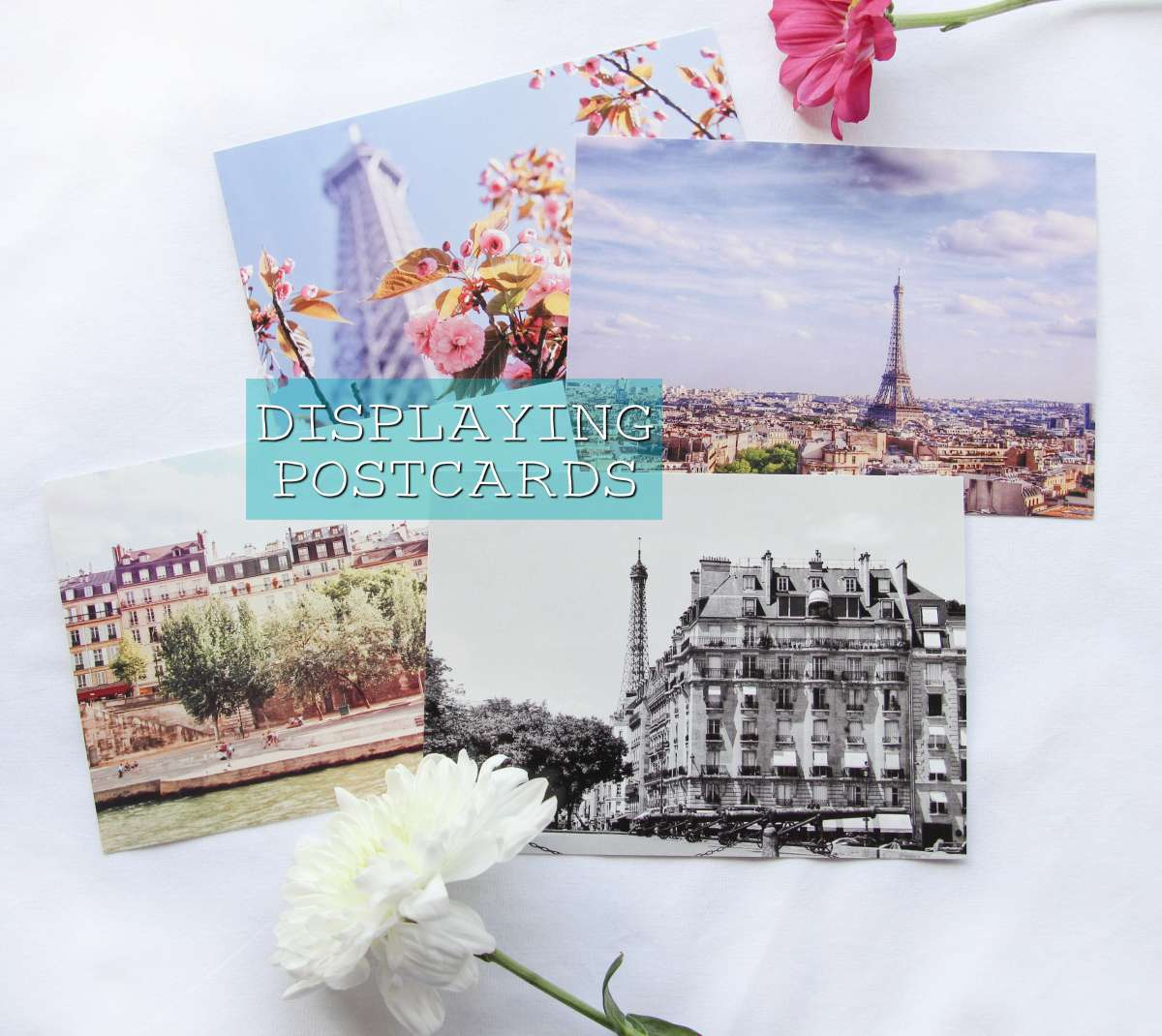 5 Ways to display Postcards at home