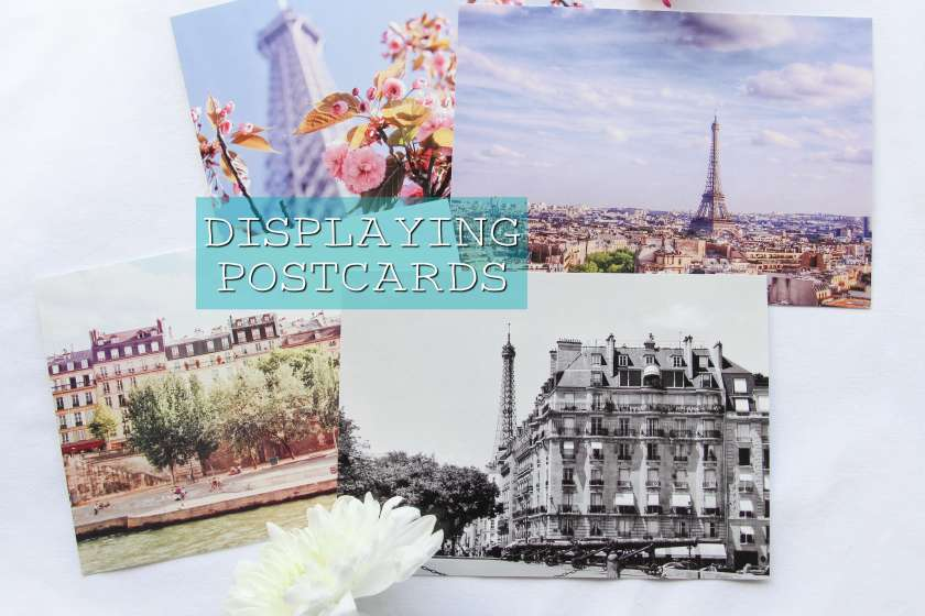 How to display postcards in home, home decor, ways to decorate
