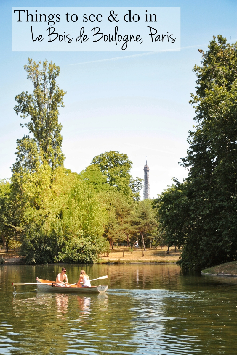 5 things to see and do in the Bois de Boulogne in Paris