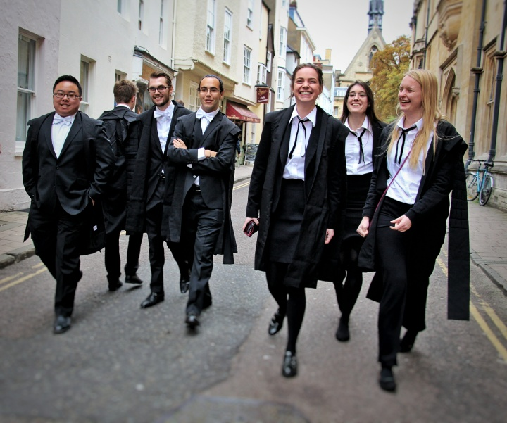 A Traditional beginning at Oxford University – Matriculation