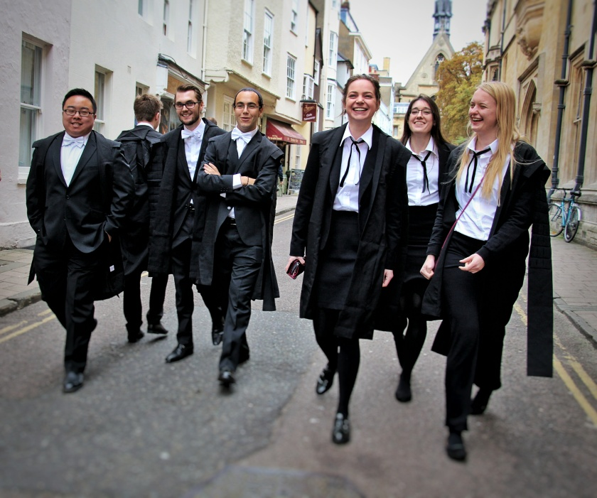 Matriculation, Oxford University 2015