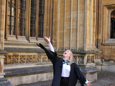 Graduation from University of Oxford