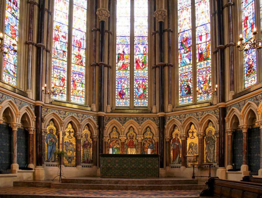 Exeter College Chapel at the University of Oxford Dr Strange Marvel Film