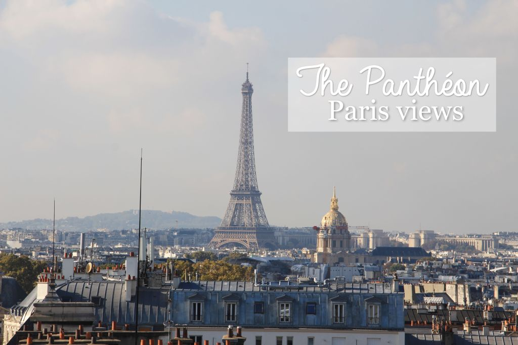 Amazing views from the Pantheon in Paris