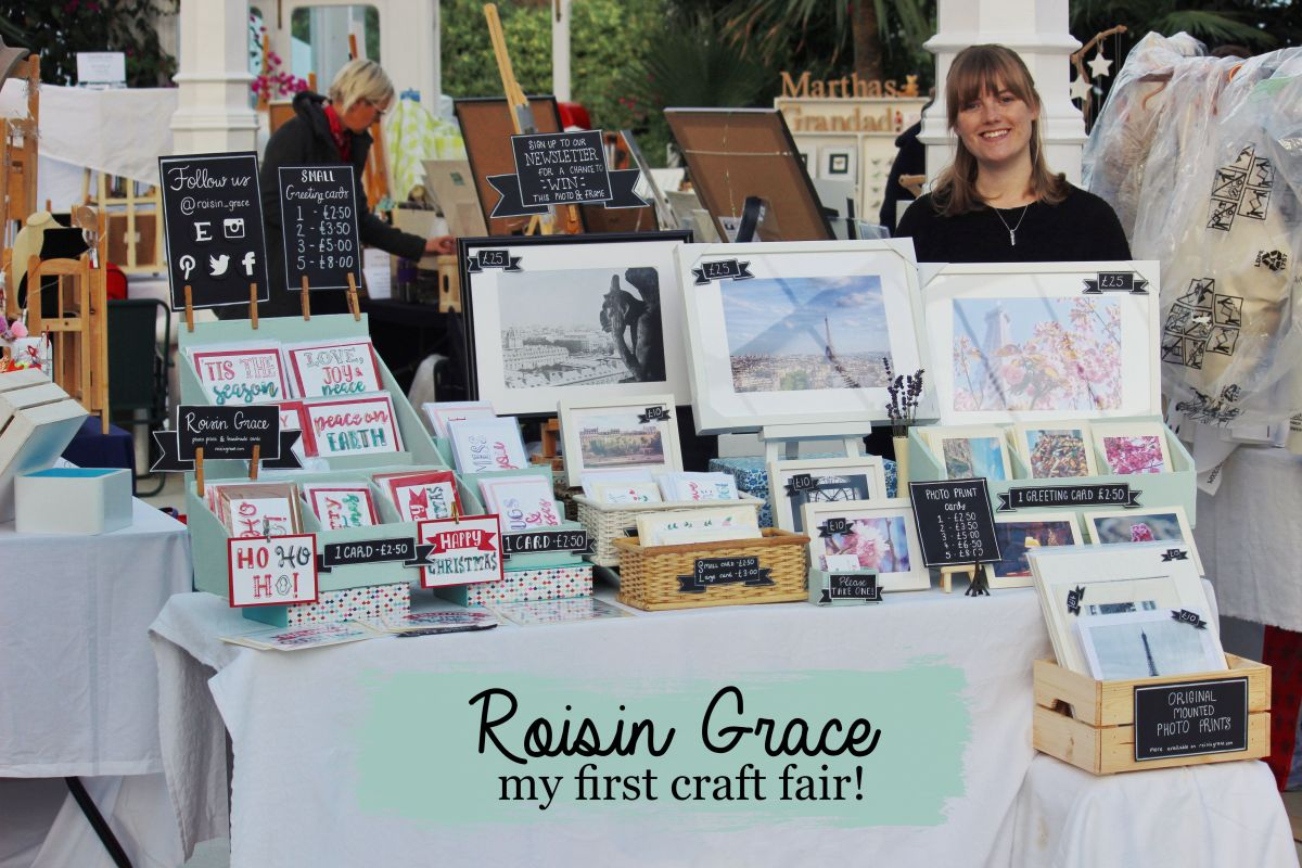 My first craft fair with the Artisans in the Palm House, Liverpool